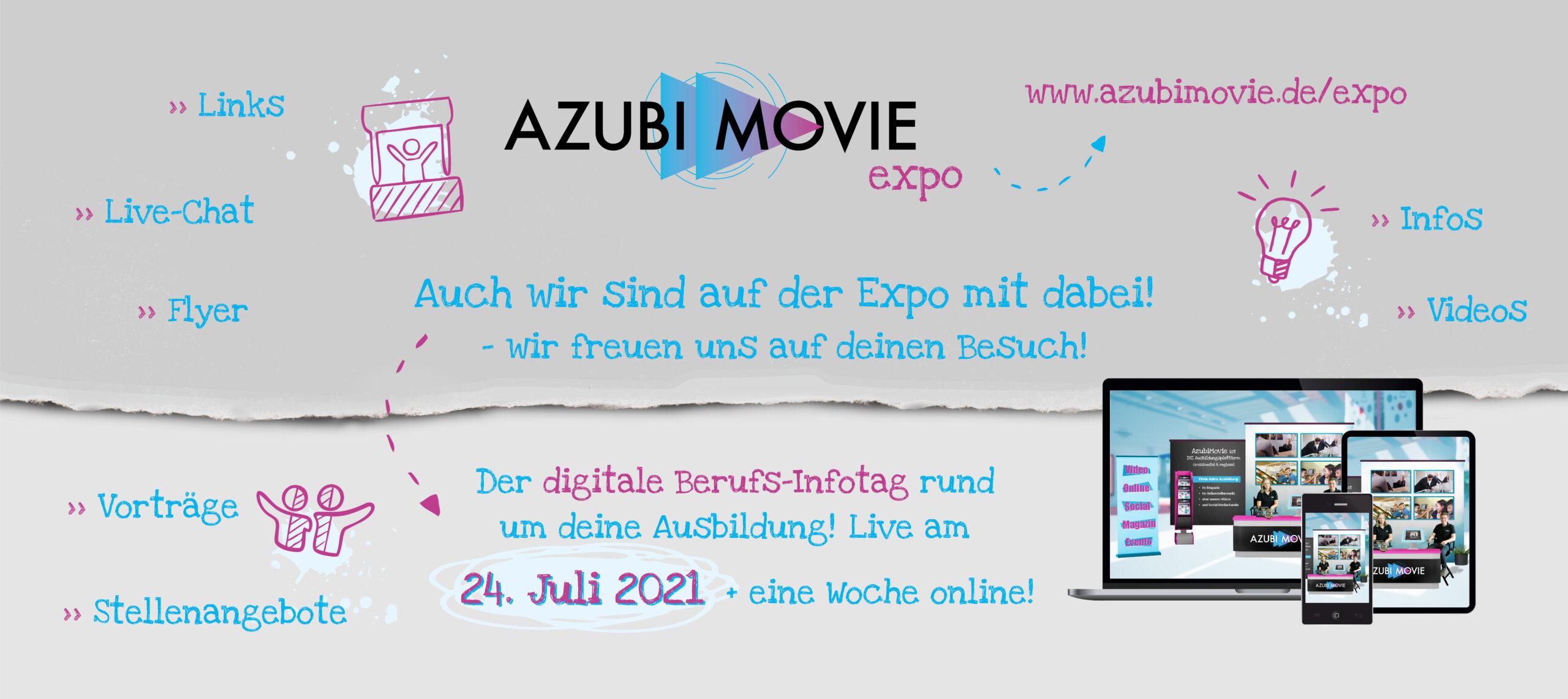 Banner AZUBI MOVIE expo